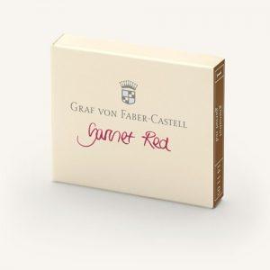 Graf Von Faber-Castell Ink Cartridges - Garnet Red