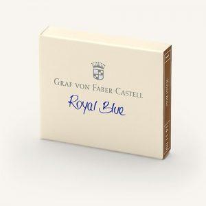 Graf Von Faber-Castell Ink Cartridges - Royal Blue