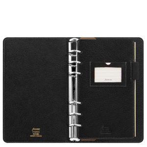 Filofax Heritage Black Organizer (A5 Compact)
