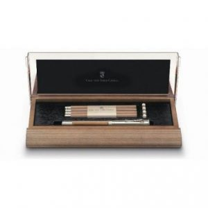 Graf von Faber-Castell Perfect Pencil Desk Set – Brown Alderwood