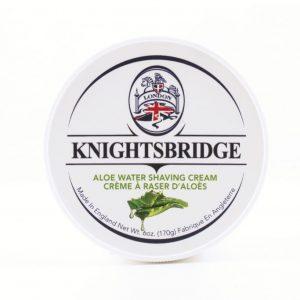 Knightsbridge Shaving Cream Aloe Water