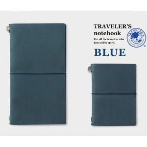 Traveler's Company Notebook Regular - Blue