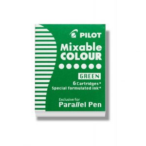 Pilot Parallel Ink Cartridge - Green