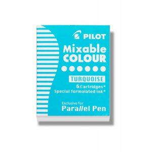 Pilot Parallel Ink Cartridge - Turquoise