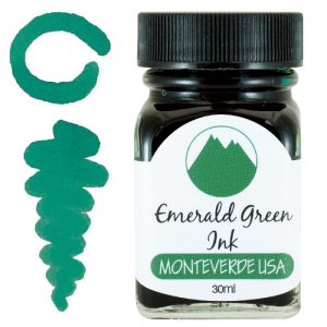 Monteverde Ink Bottle 30ml - Emerald Green