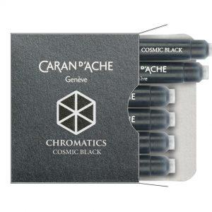 Caran d'Ache Ink Cartridge - Cosmic Black