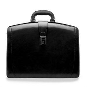 Bosca Partners Briefcase Black