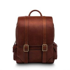 Bosca Dolce Cafe Leather Backpack
