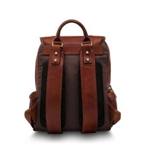 Bosca Cafe Leather Backpack