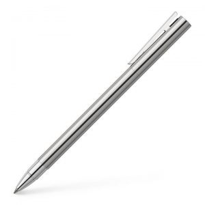 Faber-Castell NEO Slim Rollerball Pen - Shiny Stainless
