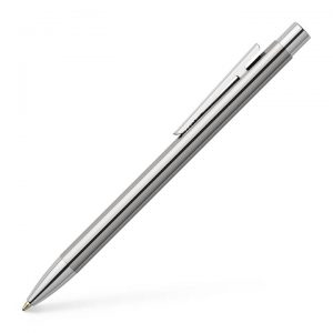 Faber-Castell NEO Slim Ballpoint Pen -Shiny Stainless