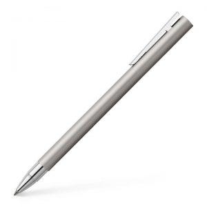 Faber-Castell NEO Slim Rollerball Pen - Matte Stainless