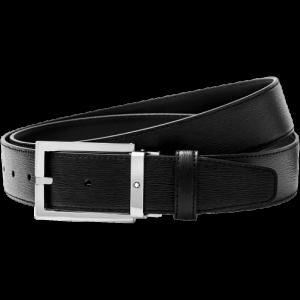 Montblanc Black cut-to-size Business Belt - Westside Leather