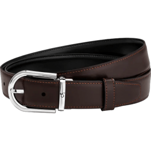 Montblanc Black/Brown cut-to-size Business Belt