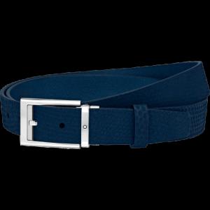 Montblanc Blue cut-to-size Business Belt