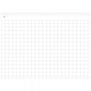 Maruman Mnemosyne N182A Notebook - A5 Landscape Grid