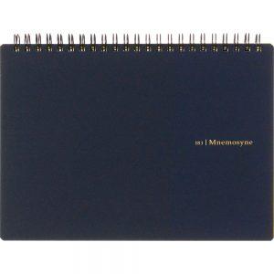 Maruman Mnemosyne N183A Notebook - A5 Landscape Blank