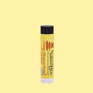 Naked Bee Orange Blossom Honey Lip Balm .15 oz.