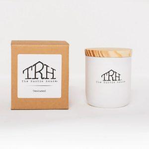 Rustic House Candle - Teakwood