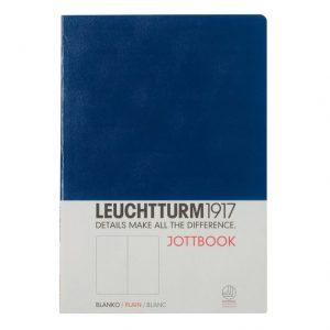 Leuchtturm 1917 Notebook (A5) Jottbook Blank- Navy