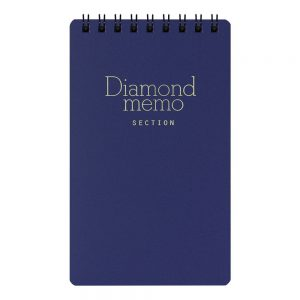 Midori Diamond Memo L Grid - Blue