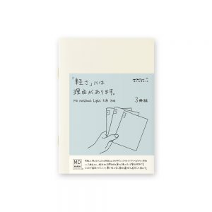 Midori Md Notebook Light A6- Grid