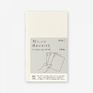 Midori Md Notebook Light B6 Slim- Lined