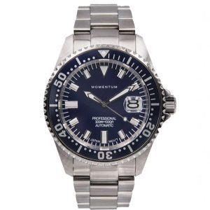 Momentum Mens Aquamatic III Watch - Blue Face