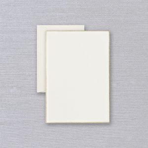 Crane Gold Bordered Half Sheets