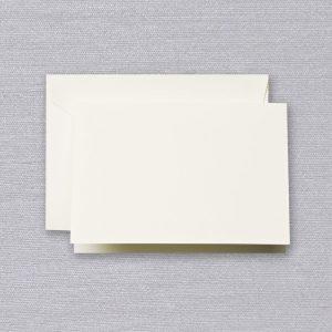 Crane Ecru Folded Note Set
