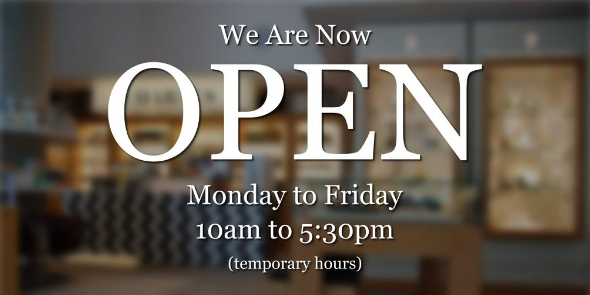Charals Reopens