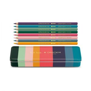 Caran D'Ache Paul Smith Box of 8 SUPRACOLOR® Soft Aquarelle - Limited Edition