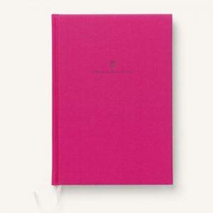 Graf-von-faber-castell linen bound A5 book vibrant pink