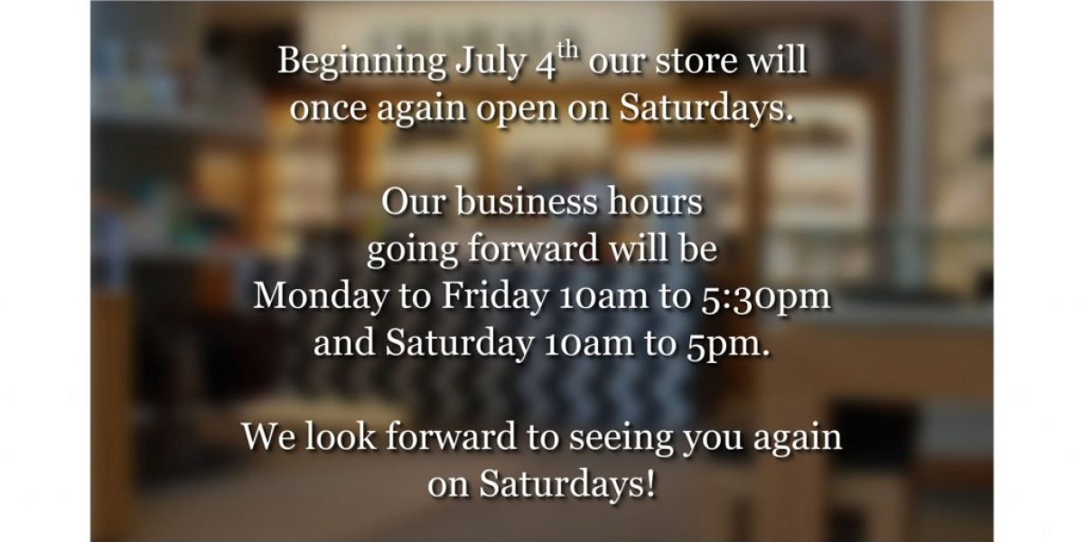 Charals Store Hours