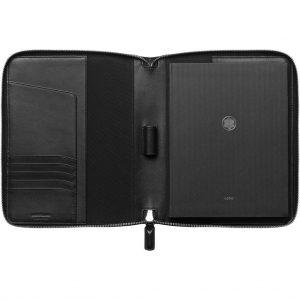 Montblanc Soft Grain Notebook Holder with external pocket