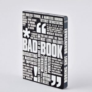 Nuuna Notebook Graphic Large Bad Book