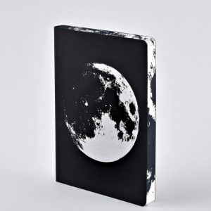 Nuuna Notebook Graphic Large Moon