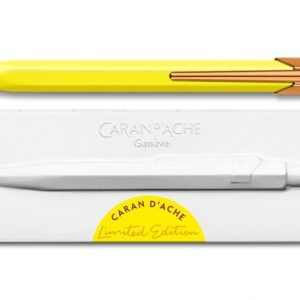 Caran D'Ache 849 Ballpoint - Claim Your Style Canary Yellow