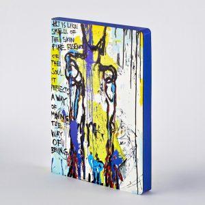 Nuuna Notebook Graphic Large  Art is Like Marija Mandic