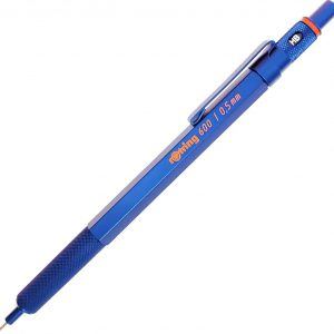 Rotring 600 Mechanical Pencil Blue Barrel