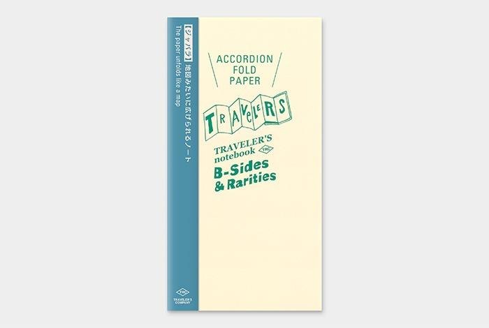 14430006 TRAVELER'S notebook accordion fold paper regular size