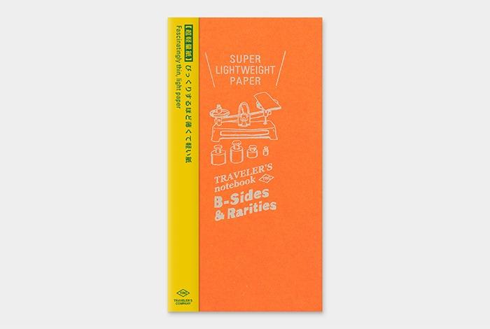 14431006 TRAVELER'S notebook super lightweight paper regular size