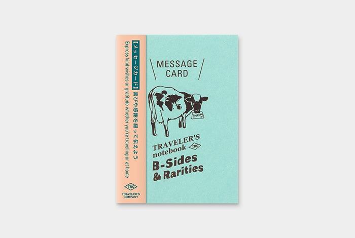 14440006 Travelers notebook passport message card refill