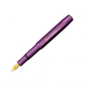 Kaweco 2021 Al-Sport Fountain Pen - Vibrant Purple
